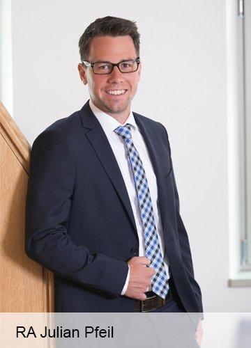 Julian Pfeil Rechtsanwalt Verkehrsrecht Inkasso
