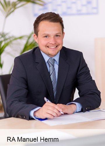Rechtsanwalt Manuel Hemm