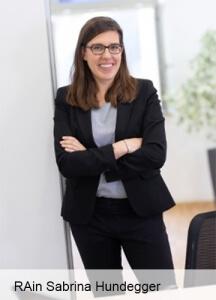 Rechtsanwältin Sabrina Hundegger