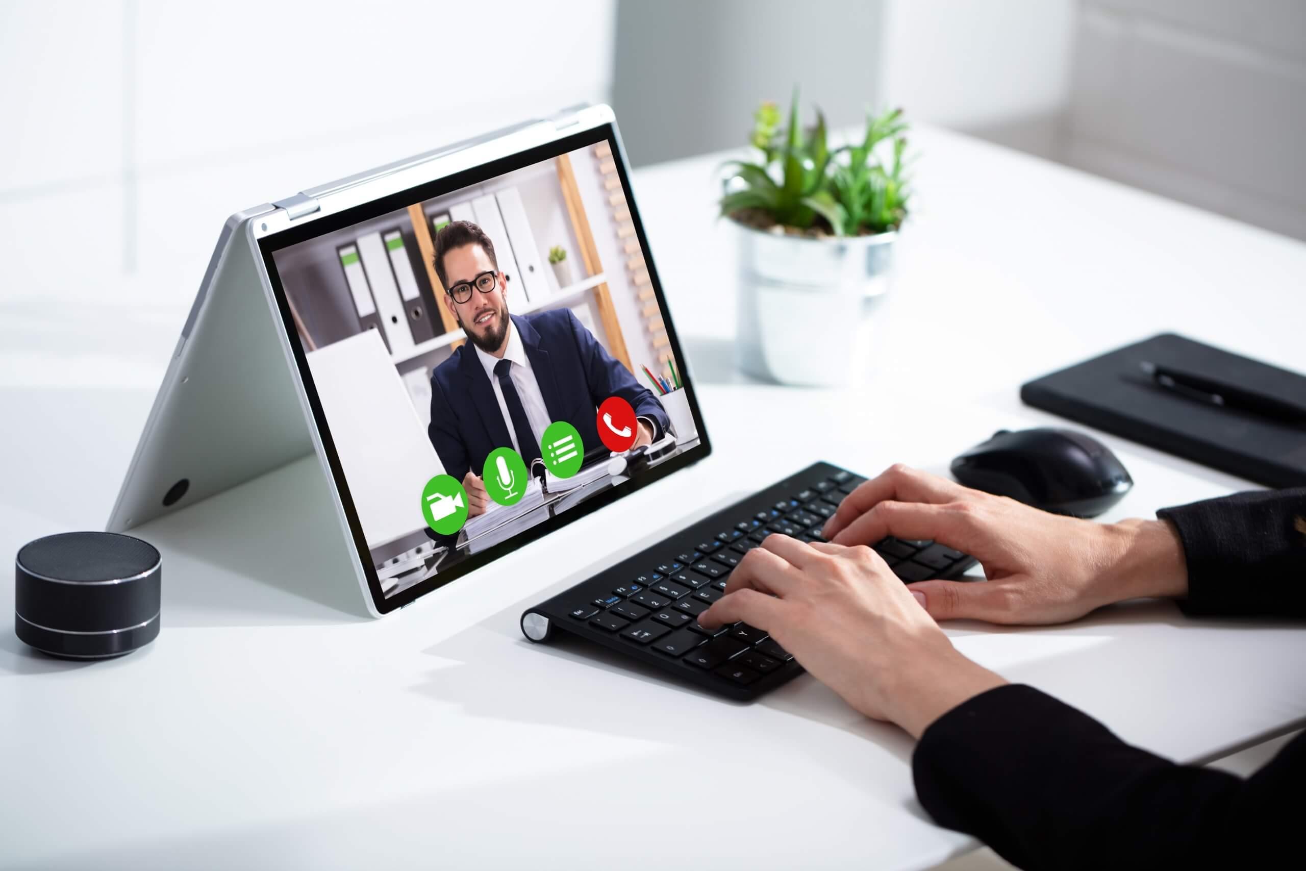 Beispiel der Videoberatung bei Steinbock & Partner