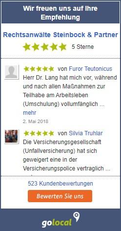 Golocal-Bewertungen Steinbock & Partner