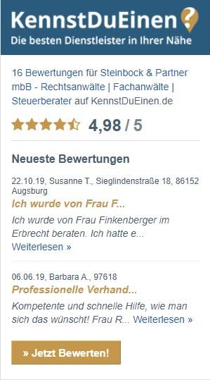 KennstduEinen Bewertungen Steinbock & Partner